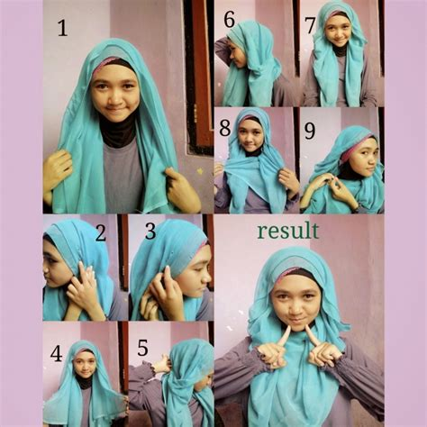 tutorial hijab syar i simple 16 tutorial hijab syar i segi empat simple dan mudah