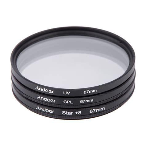67mm Vitacon Uv Filter For Zoom Lens Dslr Original andoer 67mm filter set uv cpl 8 point filter kit with for canon nikon sony dslr