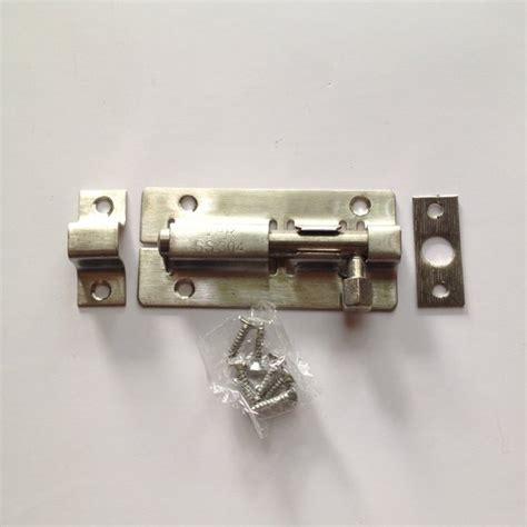 kunci pintu slot pintu grendel stainless ukuran