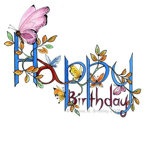 Happy Birthday Wishes Butterfly Lovely Butterfly Birthday Wishes