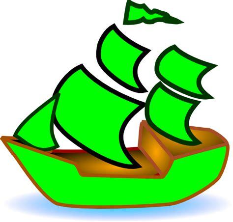 green boat clip art at clker vector clip art online - Green Boat Clipart