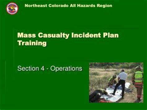 casualty section ppt mass casualty incident preparation for ems