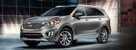 kia sorento options 2017 kia sorento interior and exterior color options