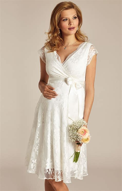 Ivory Wedding Dresses by Maternity Wedding Dress Ivory Maternity