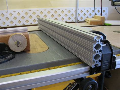 best table saw fence diy table saw fence accessory for the dewalt dw745 by