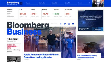 Bloomberg Top Mba 2015 by Bloomberg Business New Site Design Is Beautifully