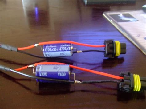 how do hid capacitors work trs hid kit install