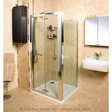 bathroom bi fold door roman embrace bi fold door shower enclosure uk bathrooms