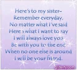 I Love You Sister Quotes by I Love My Sister Quotes For Facebook Quotesgram