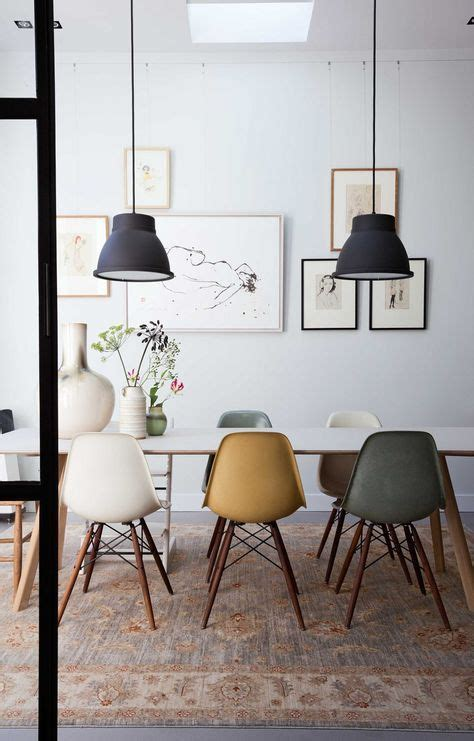 modern dining room table decorating ideas 25 best ideas about eames chairs on eames