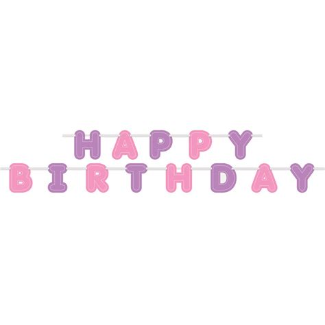 Banner Happy Birthday Pink by Purple Happy Birthday Banner Www Pixshark Images