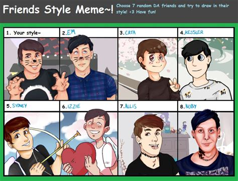 Dan And Phil Memes - friends style meme feat dan and phil by frenchiesttoast