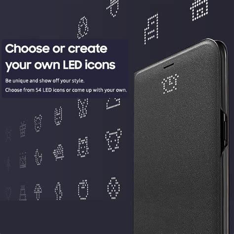 Asli Led View Cover Samsung Galaxy S8 Original Ori Flipcover S8 s8