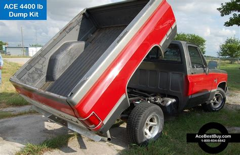 pickup dump bed 4400 lbs pickup dump bed hoist kit turn into dump truck