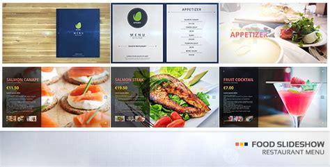 Food Slideshow Restaurant Menu After Effects Template Videohive 19323134 After Effects Food Menu Slideshow After Effects Template Free