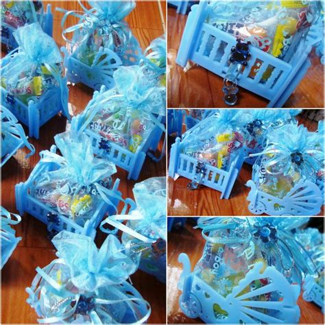 Baby Crib Giveaway - baptismal giveaways cribs baby candies blue baptism random creativity