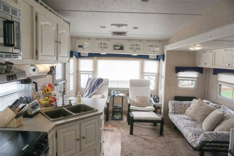 renovating our 5th wheel cer a diy follow the high 6 quick easy remodel projects that transformed our rv