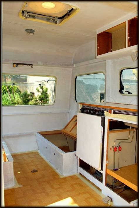 wohnwagen renovieren innenausbau projekt wohnwagen wohnwagen wohnmobil und bilder