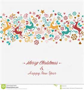 merry and happy new year greeting card royalty free stock images image 35584449