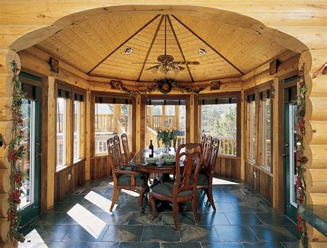 Log Sunrooms How To Design A Sunroom For Maximum Sunlight Exposure