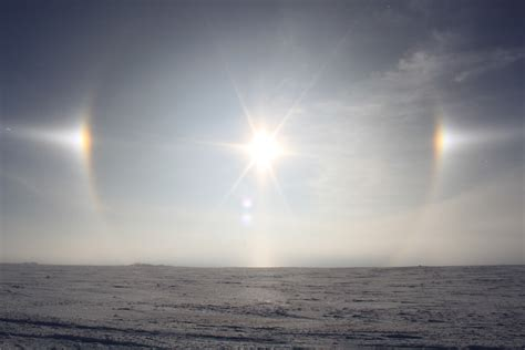 sun dogs still with birder sun dogs