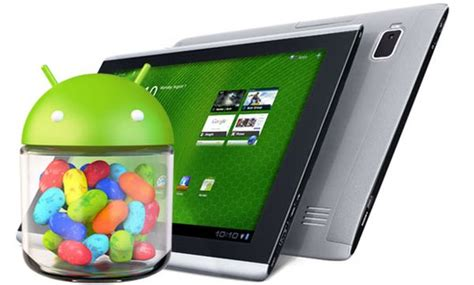 Tablet Acer Android Jelly Bean acer says jelly bean updates are coming for several unnamed tablets