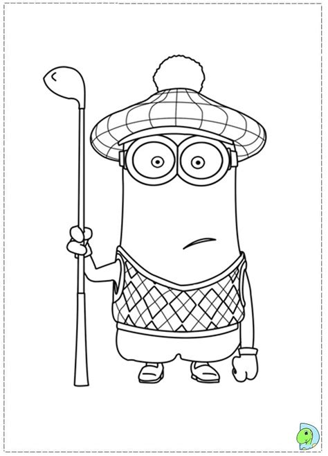 blank minion coloring page free coloring pages of minions