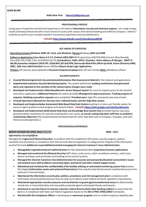 security officer sle resume security supervisor resume format 28 images security