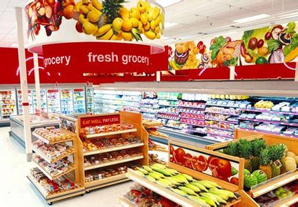 customer satisfaction with supermarkets slipping food