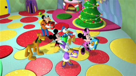 mickey mouse clubhouse christmas mickey s mornings
