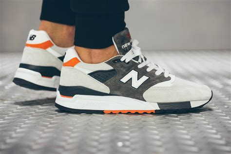 New Balance2 new balance 998 grey orange navy hypebeast