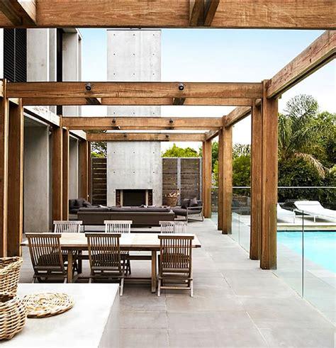 beach house design ideas victoria australia sorrento house exposed concrete in unadulterated glory