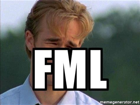 Fml Meme - fml dawson crying meme generator