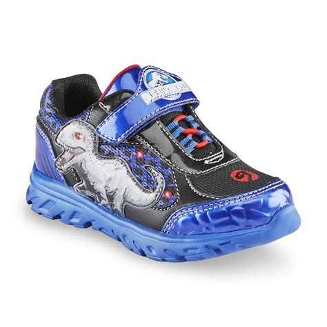 light up shoes near me universal studios boy s jurassic world black blue light up