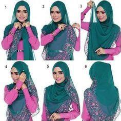 tutorial jilbab segi empat tutup dada tutorial gaya harian kasual dengan tudung bawal 2015