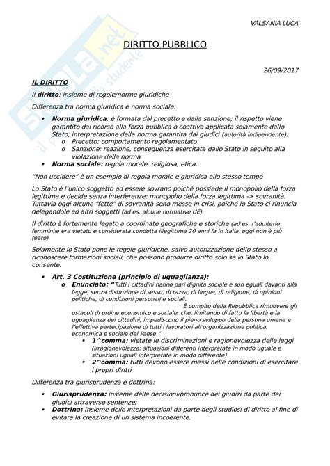 dispensa diritto pubblico appunti di diritto pubblico 1 anno