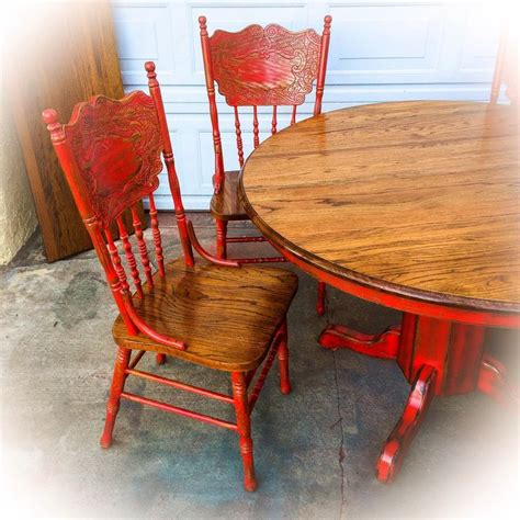 25 best ideas about distressed dining tables on