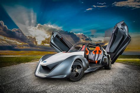 nissan electric sports car wallpaper nissan bladeglider sports car prototype