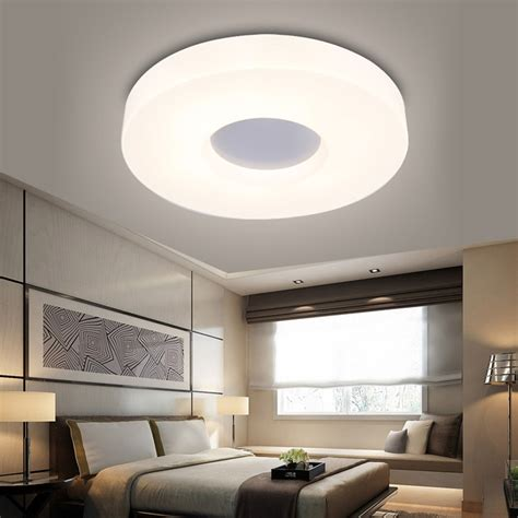 modern bedroom ceiling lights 90 265v led ceiling lights modern hallway flush mounted