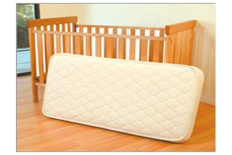 Infant Crib Mattress Organic Innerspring Crib Mattress By Eco Baby