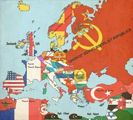 World Map 1950 by The Year Is 1950 It Has Been Five Years Since The End Of