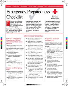 emergency response checklist template 40 printable checklist templates free word pdf format