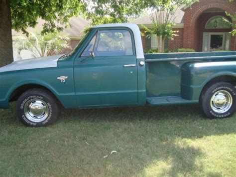 s10 stepside bed 1967 chevy c10 truck stepside bed small back window no