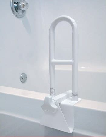safety bar for bathtub hi lo bath tub grab bar elderstore com