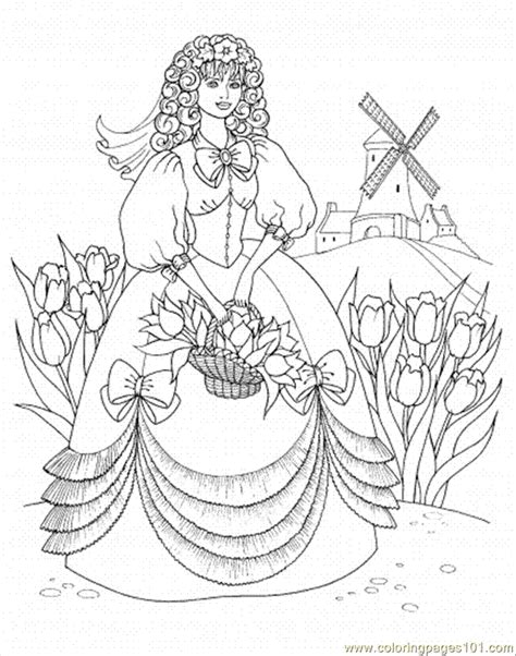 royal princess coloring pages princess in the garden coloring page free royal family
