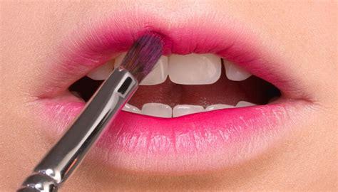tutorial lipstik gradasi make up bibir i life style by modernstork com
