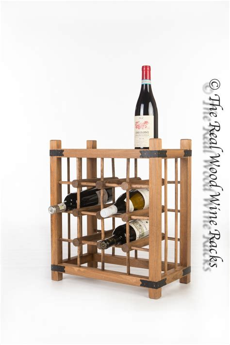 Cupboard Top Wine Rack by New Real Wooden Rustic Wine Rack Cabinet 16 Bottles