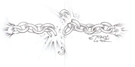 tattooflash break the chains by 2face tattoo on deviantart