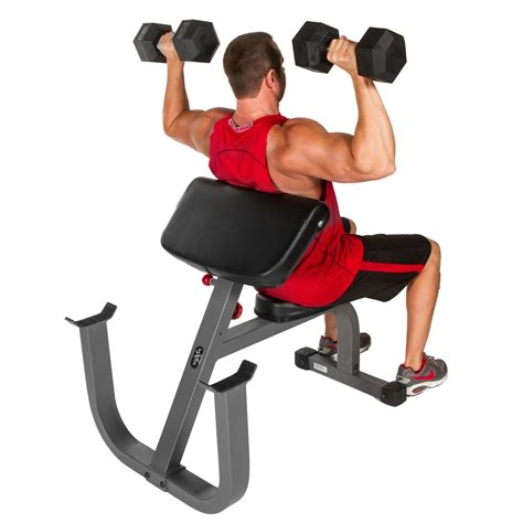 seated weight bench seated preacher curl weight bench xm 7612
