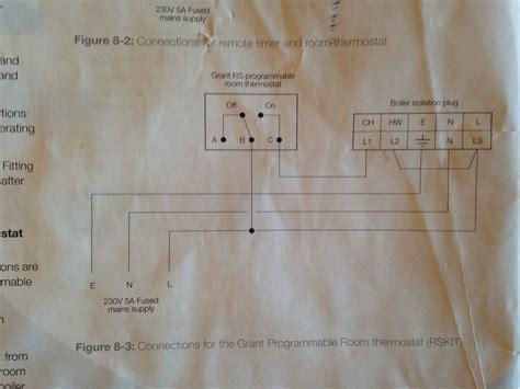 grant vortex combi honeywell bdr thermostat diynot